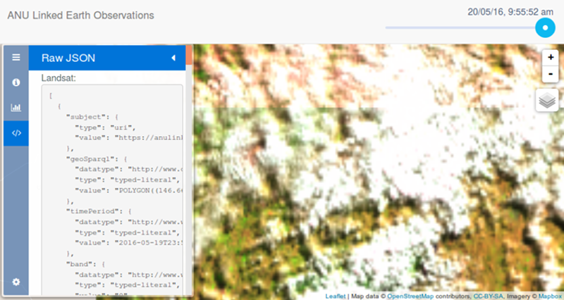 Publishing and Using Earth Observation Data with the RDF Data Cube