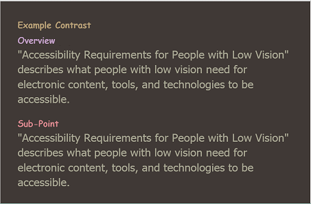d93c1f96bd18 Accessibility Requirements for People with Low Vision