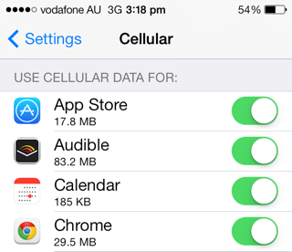 Review of apps that use network information