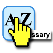 Icon with hand cursor obscuring a tooltip. It reads: 'ssary'.