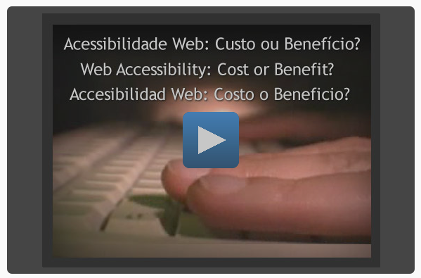 Screenshot of Web accessibility: cost or benefit? video