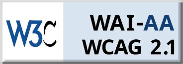 W3C WAI-AA WCAG 2.0 Logo