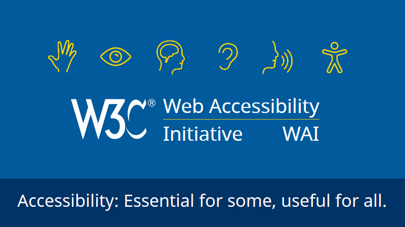 Home Web Accessibility Initiative Wai W3c