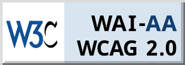 WCAG Conformance 2.0 AA Badge