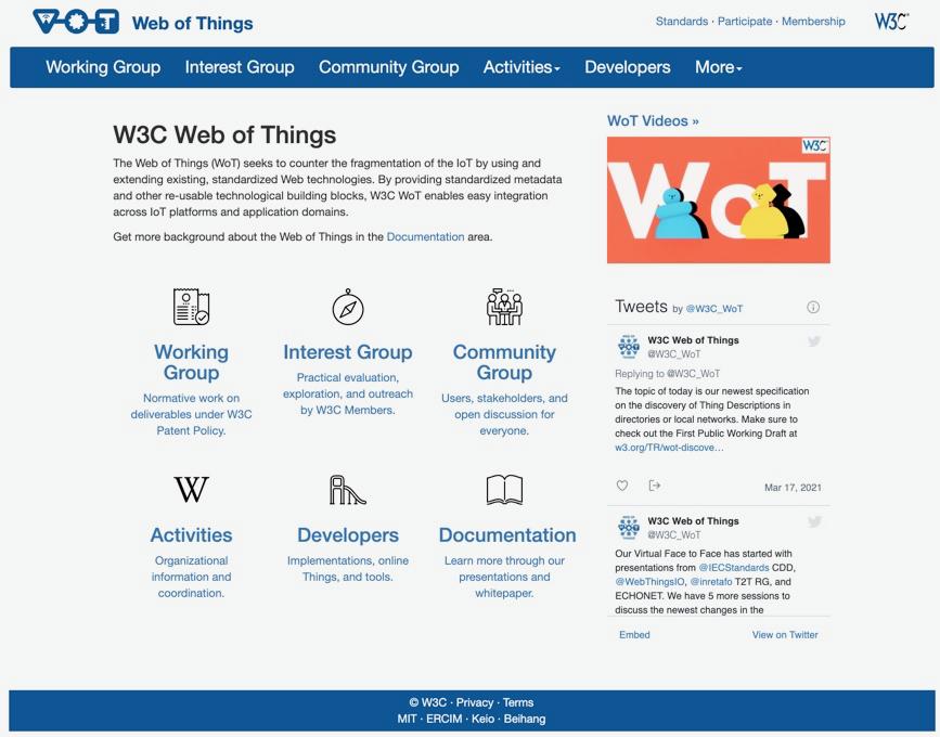 WoT Web Page