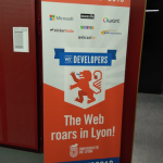 Banner of the W3C devmeetup 18 in Lyon