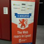 Banner of the W3C devmeetup 18 in Lyon