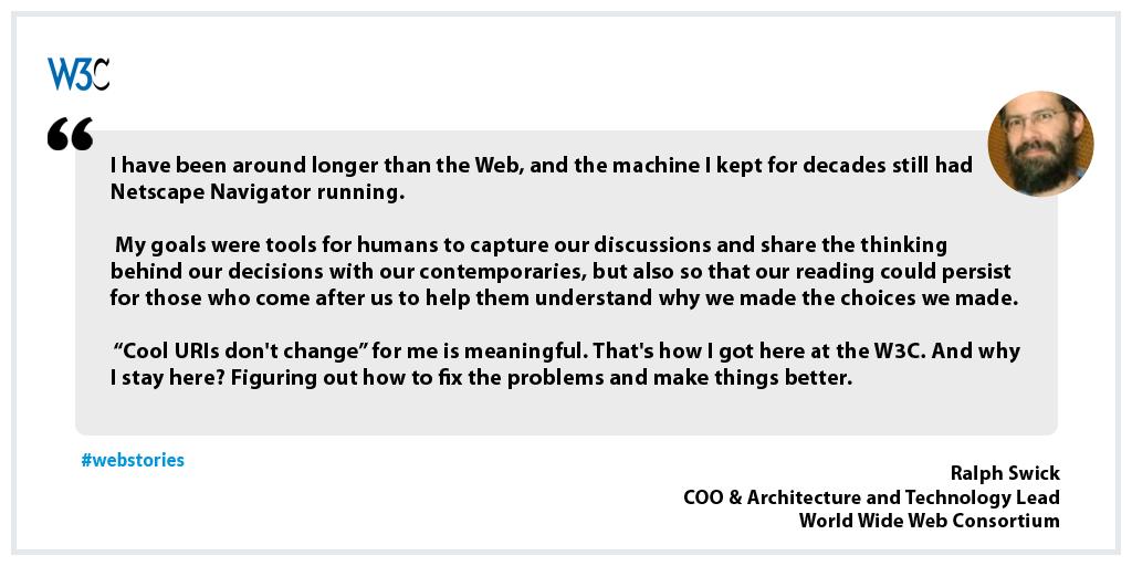 #webstory from Ralph Swick