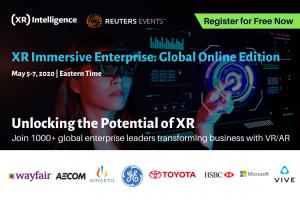 XR Immersive Enterprise 2020 banner ad
