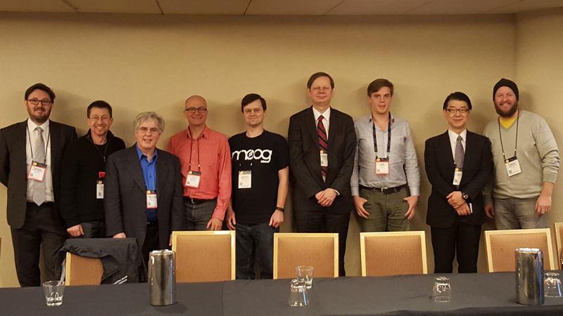 Photo of NAMM 2016 Meeting Attendees
