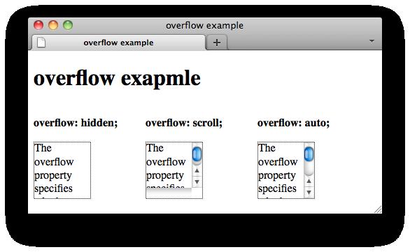 Css properties overflow web education community group - Html div overflow ...