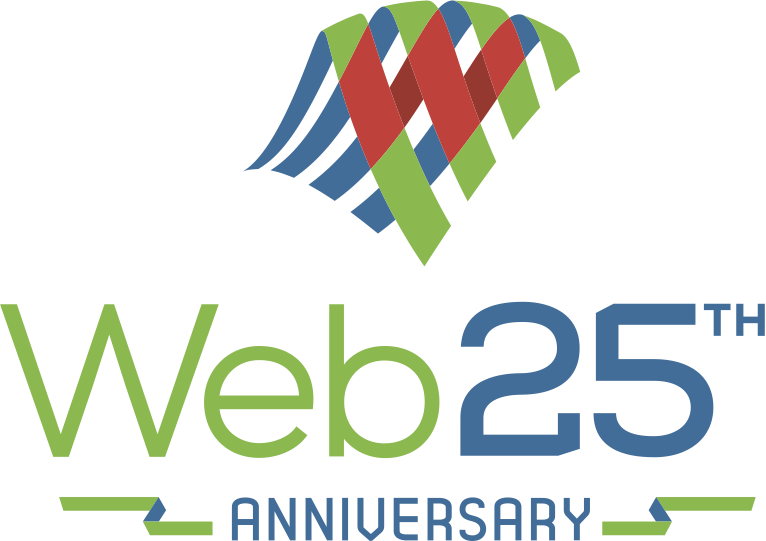 Web 25th Anniversary / Vertical
