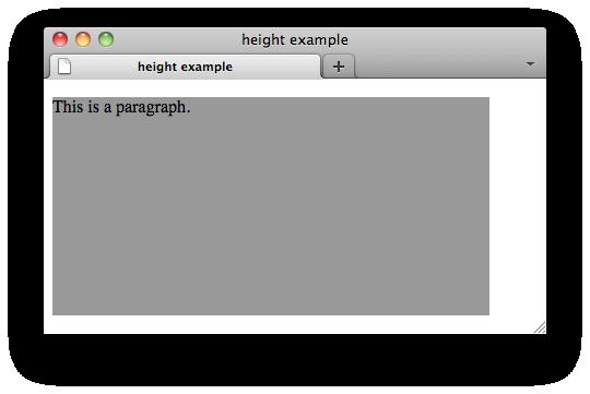 CSS/Properties/height - W3C Wiki