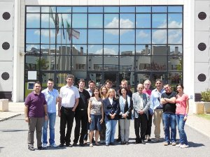 group photo at ISTI-CNR, Pisa, 14 June 2012