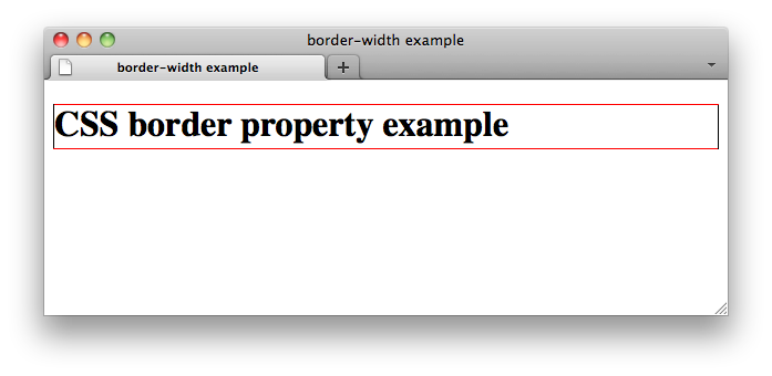 Css properties border bottom color w3c wiki for Css page color
