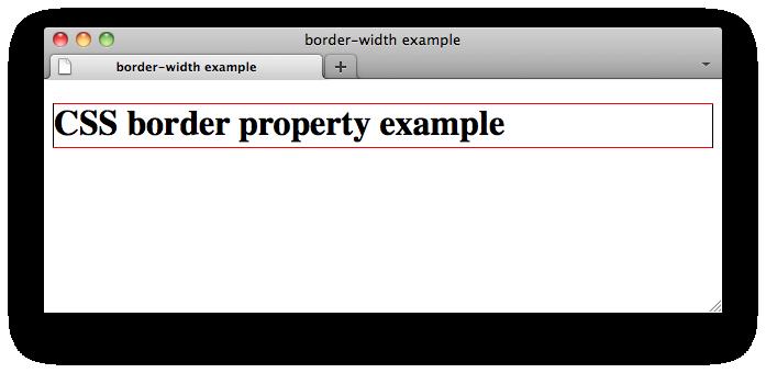 Css Properties Border Bottom Color W3c Wiki