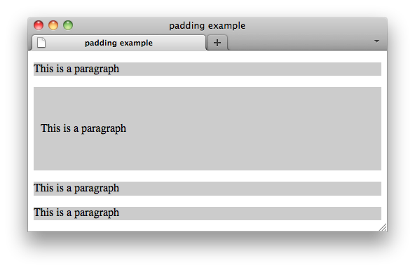 Css properties padding left w3c wiki for Table th padding css