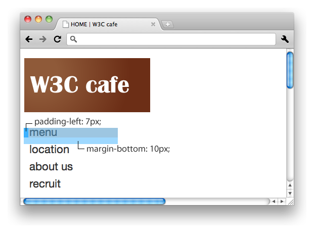 Css Training Padding And Margin W3c Wiki